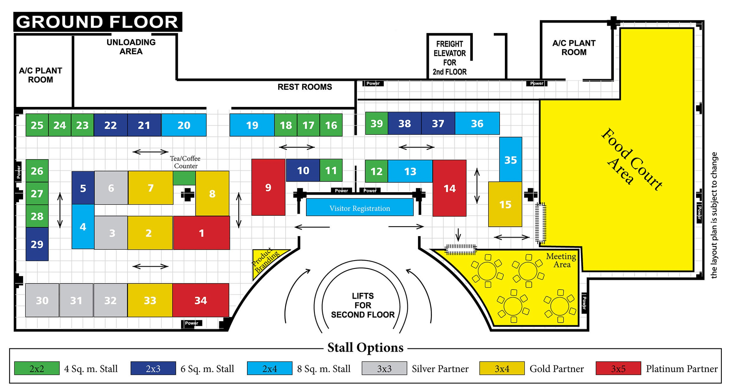 India Corrosion 2020 Conference & Expo | Venue Layout